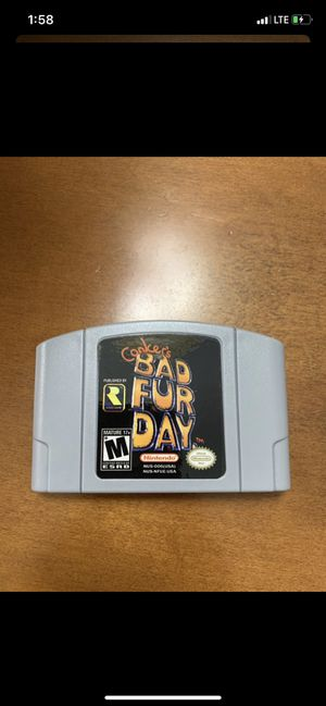 Conkers Bad Fur Day N64 for Sale in Los Angeles, CA