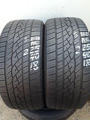 225/40-18 #2 tires for Sale in Alexandria, VA