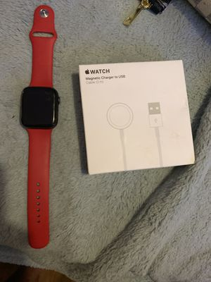 APPLE WATCH SERIES 4 44mm With RED BAND for Sale in Langley Park, MD