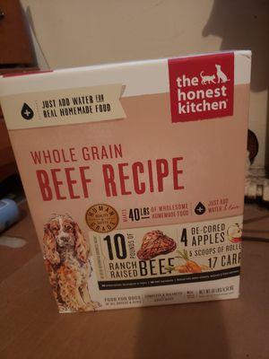 Whole grain beef recipe 10lbs dog food for Sale in Arlington, VA