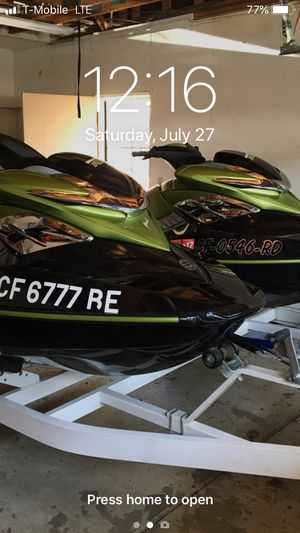 Jet skis for sale sea doo supercharged. Low hour 0 60 fast for Sale in Vallejo, CA