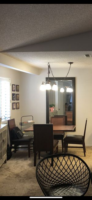 Dinette dining set w/ 4 chairs for Sale in Poway, CA