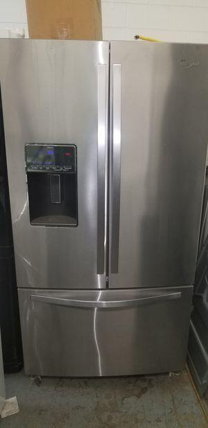 Whirlpool stainless steel refrigerator for Sale in Chesapeake, VA