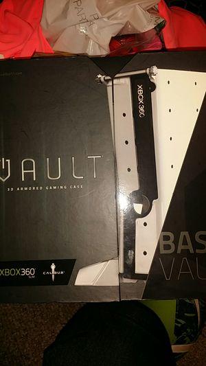 Xbox 360 slim 3D armor gaming case for Sale in Grand Prairie, TX