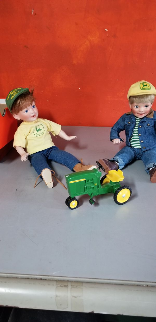 John deer dolls for pair with tractor