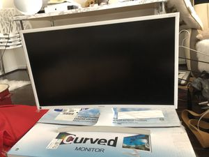 Samsung 27 inch curved monitor for Sale in Centreville, VA