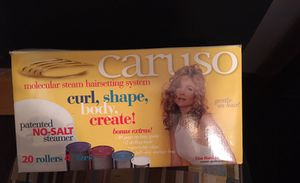 New Caruso steamer rollers to curl your hair and including two extra packs of hair rollers for Sale in Chicago, IL