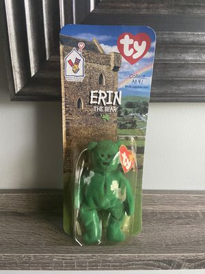 Erin beanie baby (rare,vintage) for Sale in Fuquay-Varina, NC