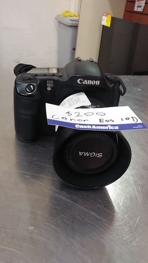 Canon Eos 10D for Sale in Chicago, IL
