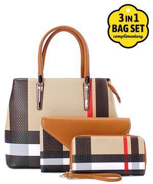 Leather Handbag, Clutch/Messenger, AND Wallet! for Sale in Atlanta, GA