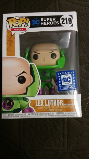 MINT LEX LUTHOR DC FUNKO POP SUPERMAN for Sale in Houston, TX