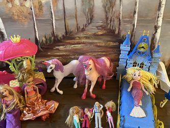 Princess Barbie and Unicorn Lot for Sale in Mukilteo,  WA