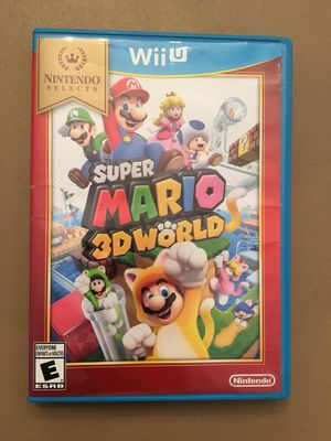 Nintendo Wii U: Super Mario 3D World for Sale in Elgin, IL