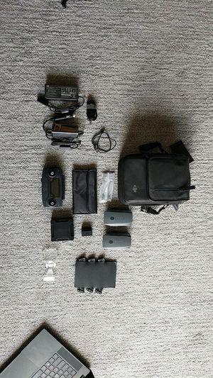 DJI Mavic Pro Accessories Worth $550 (No Drone) for Sale in Seattle, WA