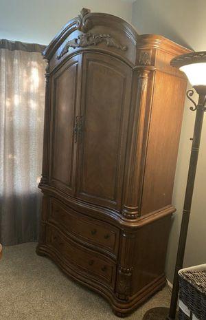 Armoire - Solid Oak for Sale in Centreville, VA
