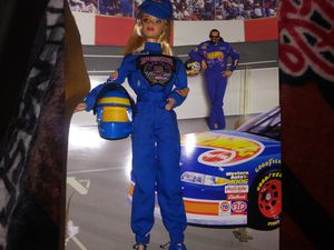 Barbie Dolls nascar&President for Sale in Monroe, LA