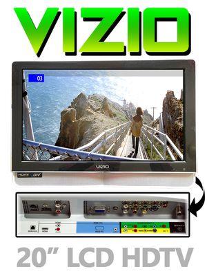 20-inch Vizio VX20L Widescreen LCD HDTV for Sale in Passaic, NJ
