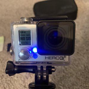 GoPro Hero 3+ Silver . for Sale in Las Vegas, NV