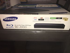Samsung blu-ray disc player DVD player for Sale in The Bronx, NY