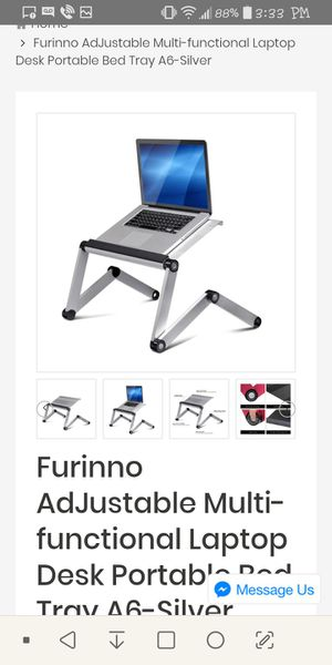 Furinno AdJustable Multi-functional Laptop Desk Portable Bed Tray for Sale in Phoenix, AZ