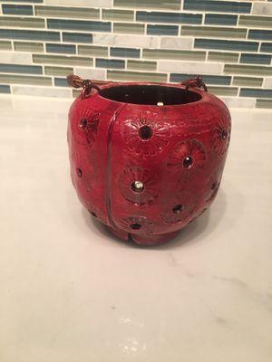 handmade japanese clay (kiln-fired) lantern for Sale in Washington, DC