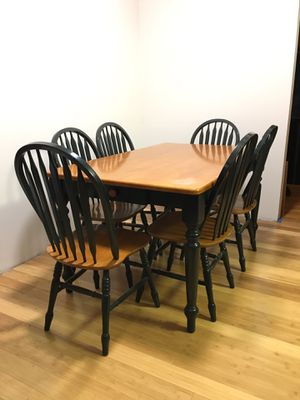 Kitchen Table with drawer and chairs for Sale in Des Moines, WA
