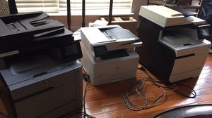 All in one - HP laser jet printer and fax machine for Sale in Elkridge, MD