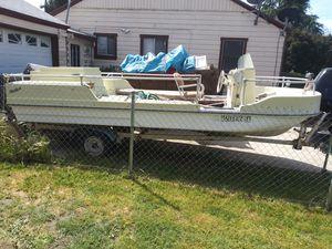 16 ft deck boat for Sale in San Bernardino, CA