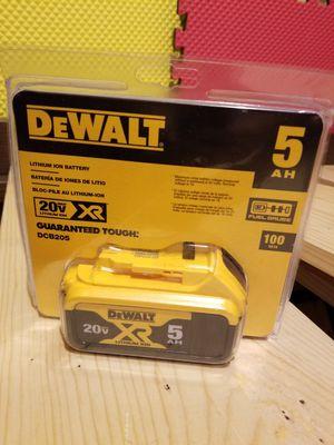 Dewalt Battery 5.0Ah 20V for Sale in Norwalk, CA