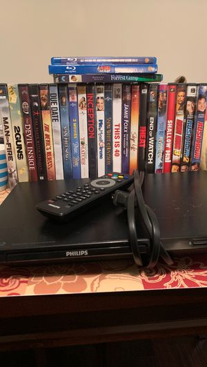 DVD player and DVDs for Sale in undefined