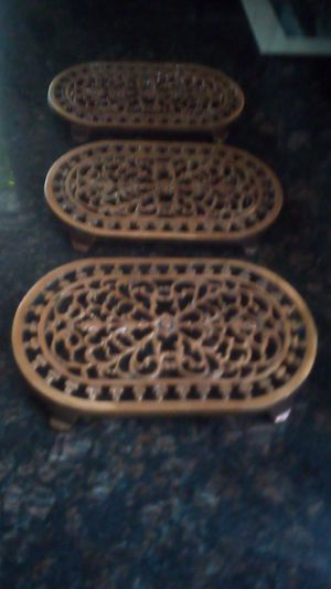 Cast iron wall hanging/pot holder for Sale in Spokane, WA