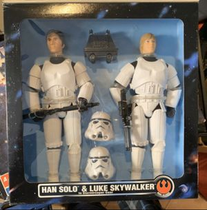 Kenner Luke & Han as Storm Troopers for Sale in South Gate, CA