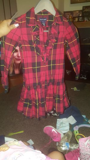 Ralph Lauren size 6 Plaid Dress/Shirt for Sale in Rockville, MD