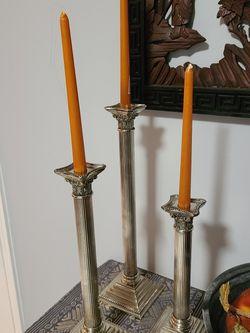 Set Of 3 Candle Holder for Sale in Lawrenceville,  GA