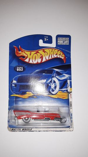 Hot Wheels 2001 Collector #052 First Editions 32 of 36 '57 1957 Roadster 5SPs for Sale in San Diego, CA