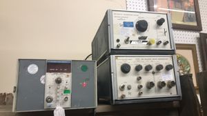 Tektronix calibration fixture and other equipment for Sale in Wichita, KS