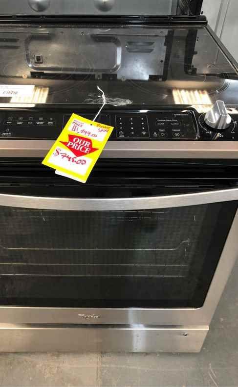 Whirlpool stove BI