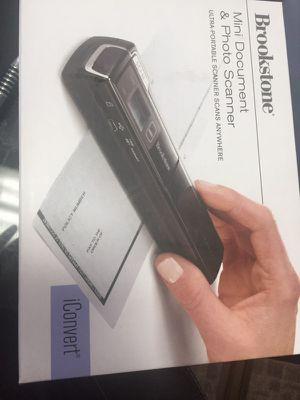 Brookstone mini scanner NEW for Sale in Alexandria, VA