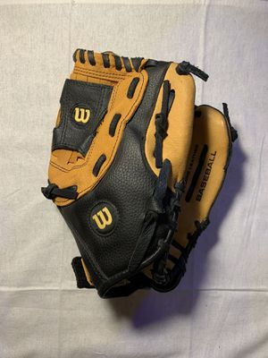 "Wilson 11"" Youth Baseball Glove - model A2451 Genuine Leather for Sale in Romeoville, IL"