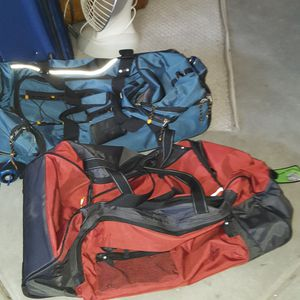 2 Rolling Duffle Bags for Sale in Carlsbad, CA
