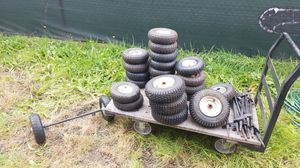 Small wheels and tires for Sale in Tacoma, WA