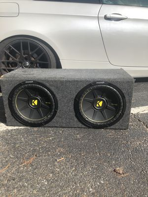 Kicker Comp C 12in Subwoofer Speaker system for Sale in Arlington, VA