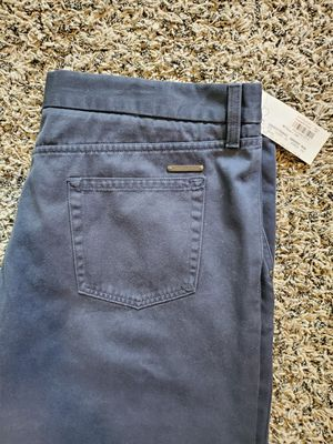 Mens Navy blue Burberry pants size 36, brand new located in yorba linda for Sale in Yorba Linda, CA