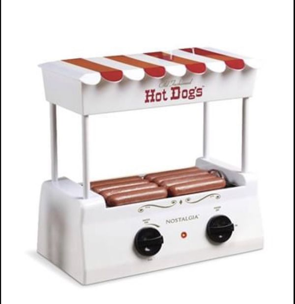 Nostalgia Hot Dog Roller