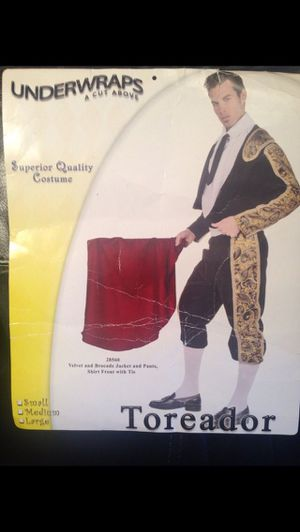 Bullfighter Halloween costume- like new for Sale in Merrick, NY