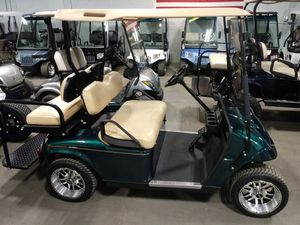 2013 EZGO TXT golf cart with custom wheels, lights, and rear seat for Sale in Allegan, MI