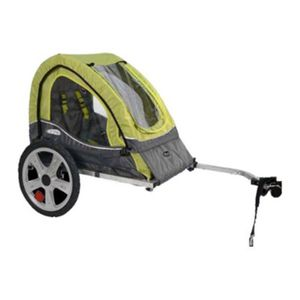 InStep Single Seat and Double Seat Foldable Tow Behind Bike Trailers, Featuring 2-in-1 Canopy and 16-Inch Wheels, for Kids and Children for Sale in North Miami, FL