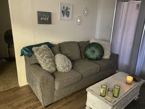 Grey couch for Sale in Phoenix, AZ