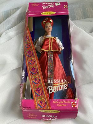 New Vintage RUSSIAN Collectors Dolls of World BARBIE DOLL for Sale in Glastonbury, CT