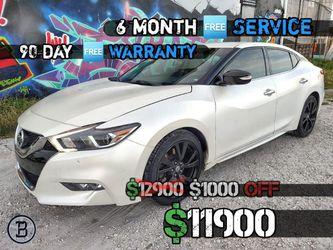 2017 Nissan Maxima SV 80k $11900 for Sale in Miami,  FL